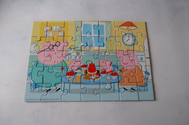 Gift ideas for a 3-year-old Peppa Pig Puzzle