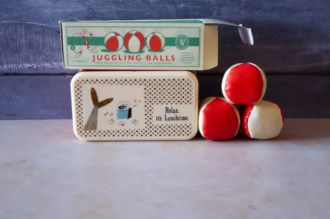 Father's Day Gift Guide 2019 - Bento Box and Juggling Balls