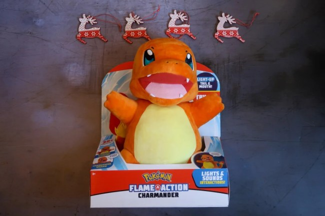 Flame action Charmander