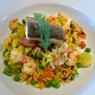 CC seafood plate