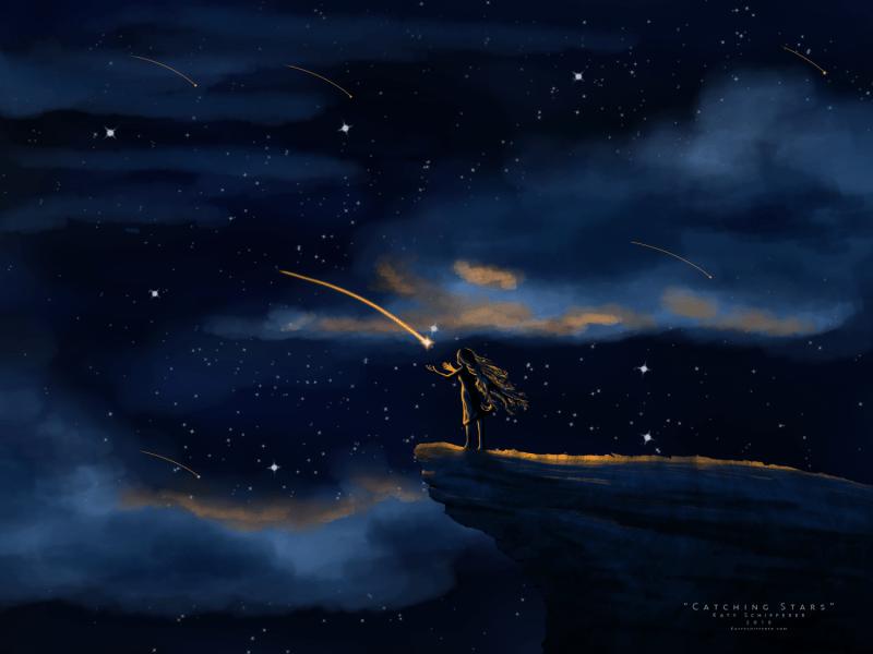 """Catching Stars"" by Katy Schifferer"