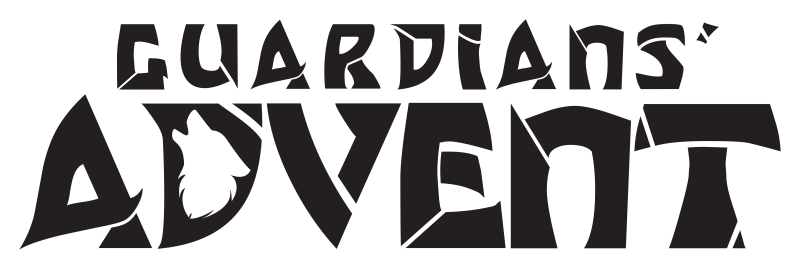 Guardians' Advent Logo - Grey Version #guardiansadvent