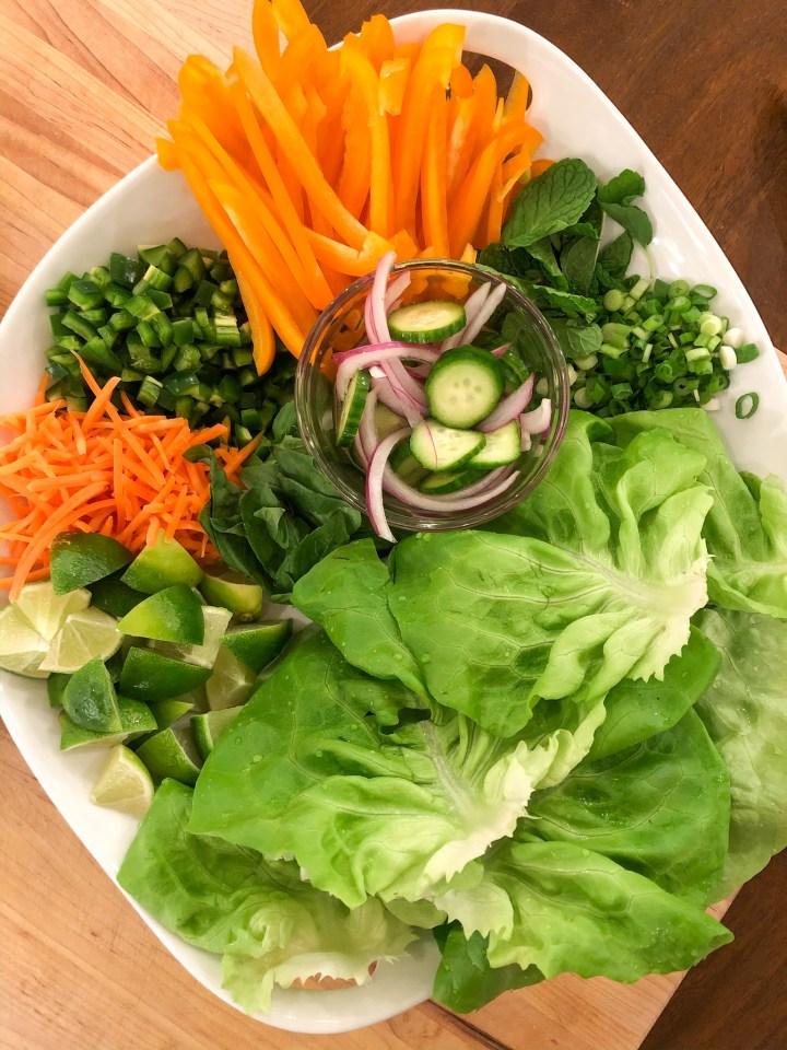 lettuce wrap toppings