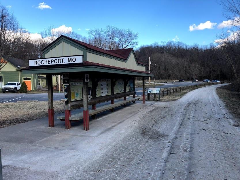 Rocheport Trailhead