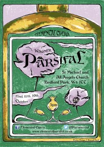 Parsifal opera poster