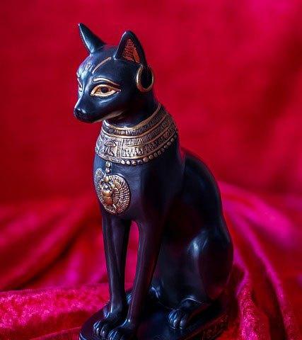 Katzengöttin Bastet, Quelle Pixabay