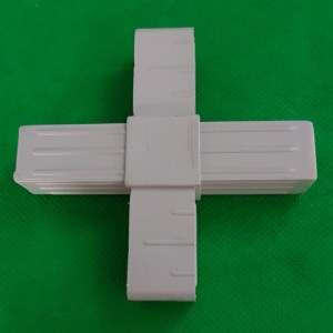 4fach Verbinder Kreuzverbinder für 20x20x1,5