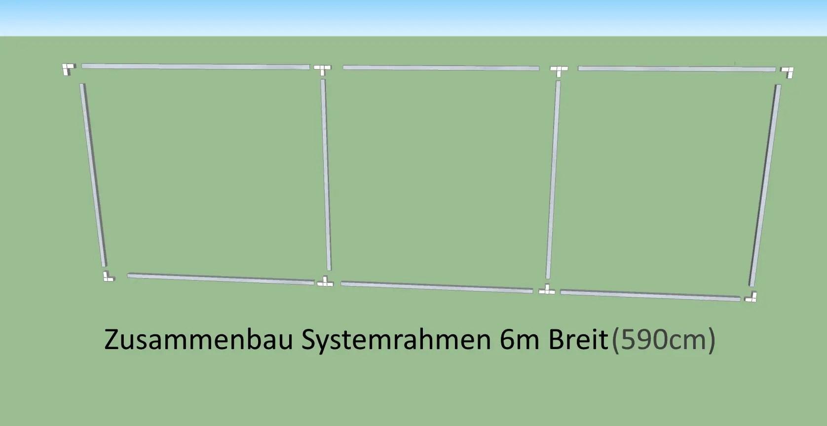 Katzennetz 198cm Höhe Selbstbausatz 6m