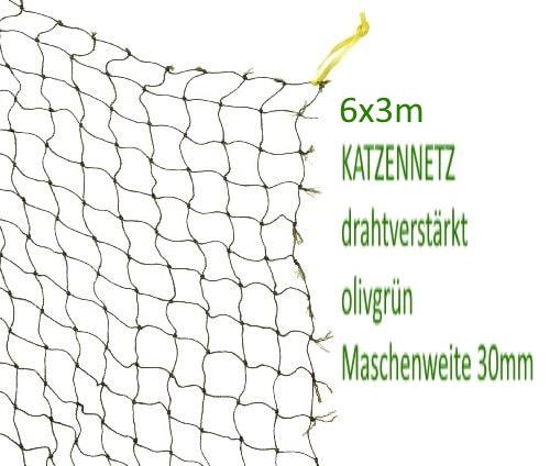 Katzennetz 6x3m