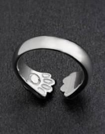925-Sterling-Silver-Cat-Paw-Hug-Ring03-235x300