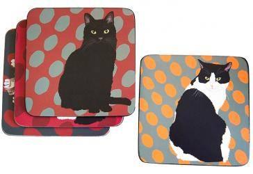 Cat coasters 2