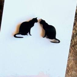 Black-Perspex-Black-Cat-Earrings-Australian-Gifts