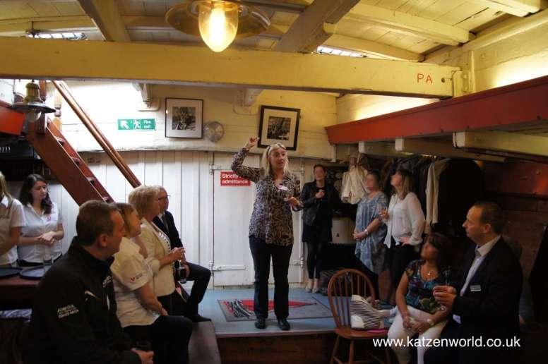Lady Daphne boat trip