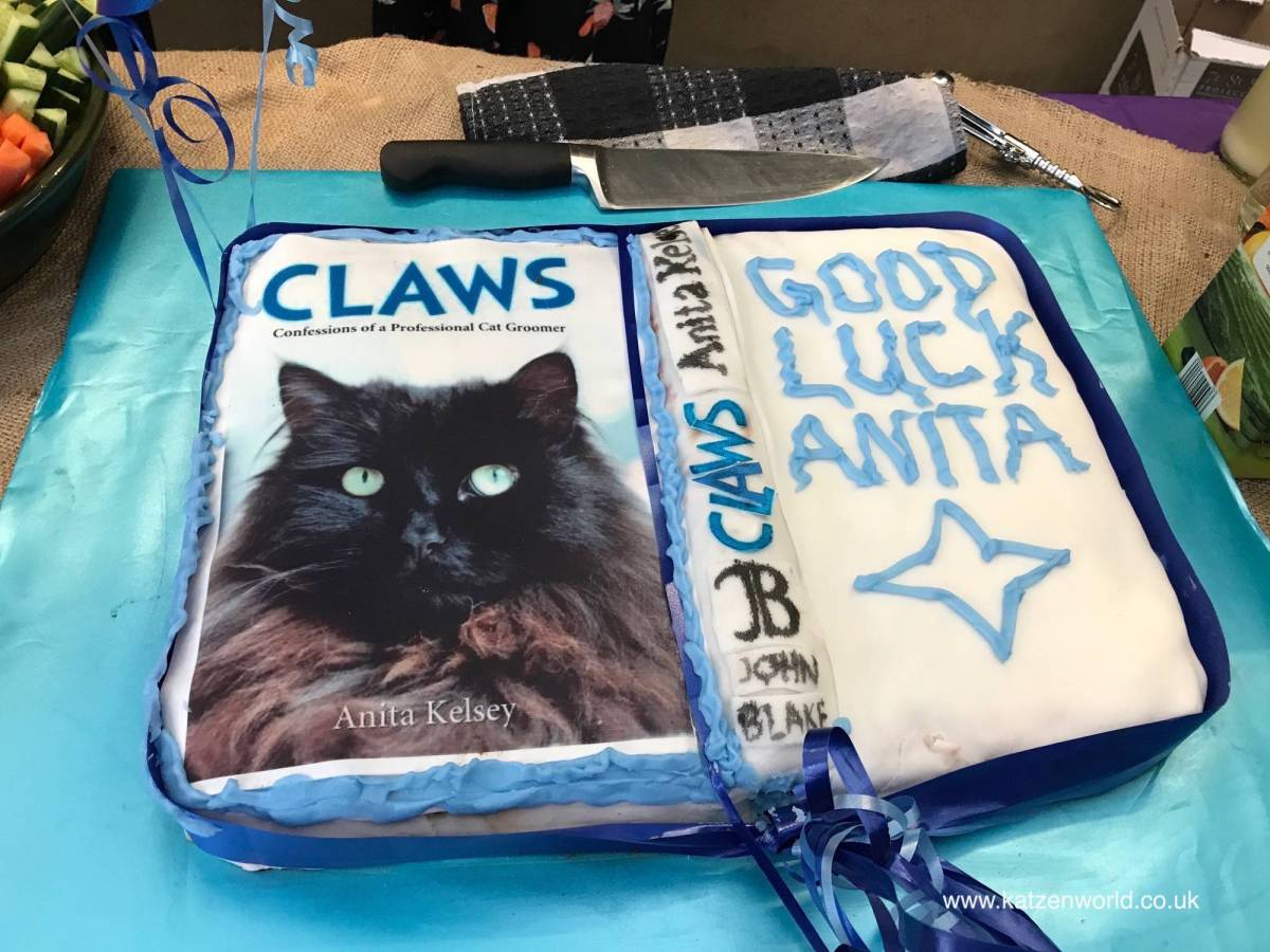 Launch Party @Mayhew: Claws Confessions of a Professional Cat Groomer by Anita Kelsey