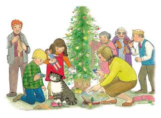 MOG'S CHRISTMAS Image © 1976 Kerr-Kneale Productions Ltd