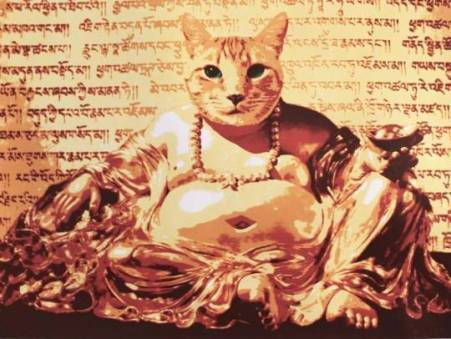 You can buy Golden Buddha Cat at this year's CatFest. Or online if you can't make it to the festival (Picture: Karen Fiorito)
