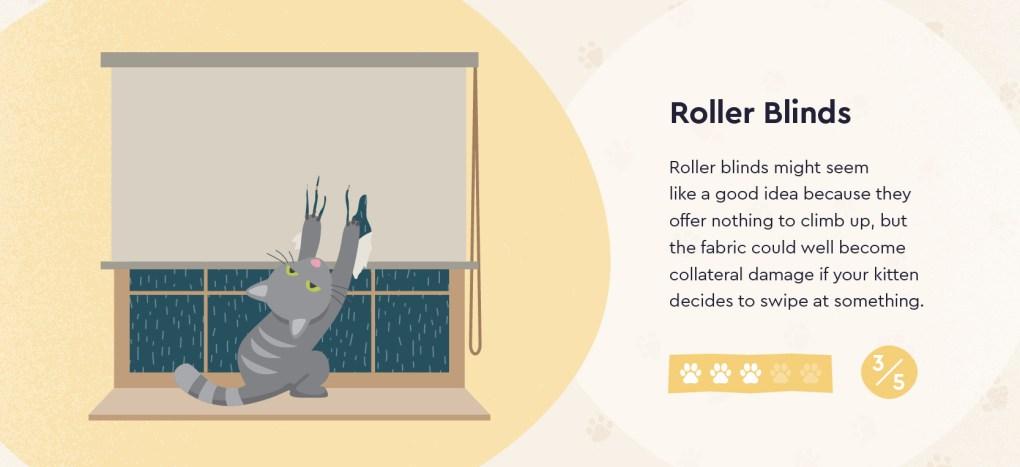 Pet Friendly Roller Blinds