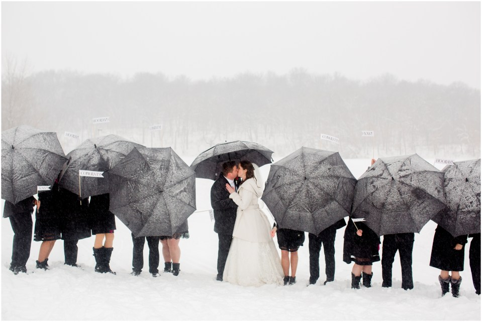 Winter wedding,bridesmaids,groomsmen,lebanon hills,matthew lutes,pink,snow,vanessa walsh,wedding party,winter,