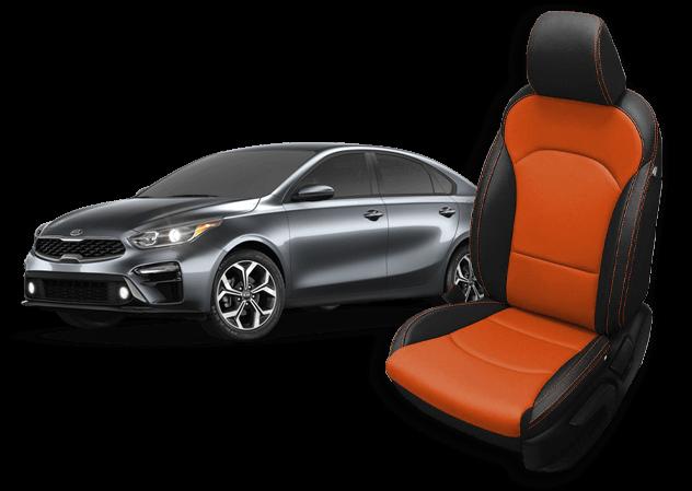 Kia Forte Seat Covers Leather Seats Seat Replacement Katzkin