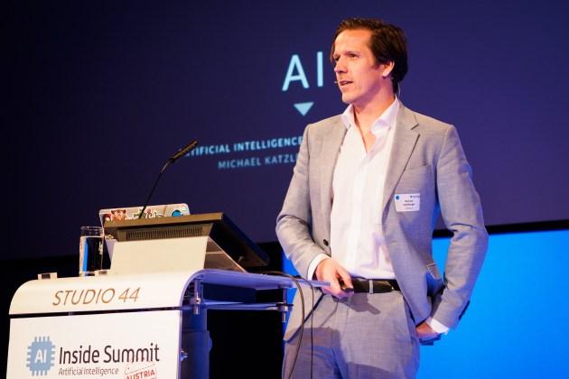 Michael Katzlberger, AI-Expert TUNNEL23
