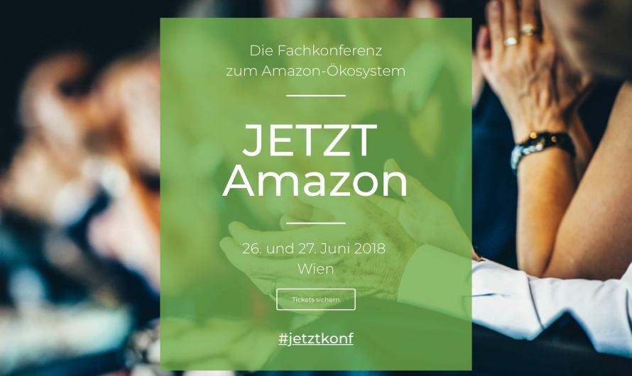 Michael Katzlberger spricht bei Jetzt Amazon Conference