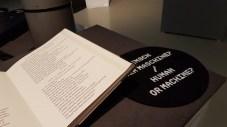 KI Gedicht von TUNNEL23 im Museum der Arbeit, Hamburg