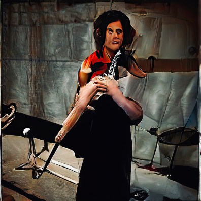 """Flute"" -GAN Kunst"