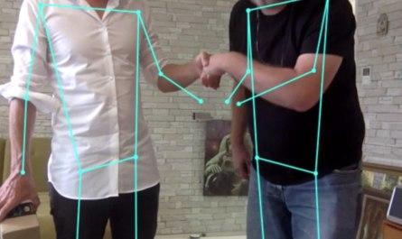 Posenet 2 - TensorFlow Google - Software erkennt menschliche Posen