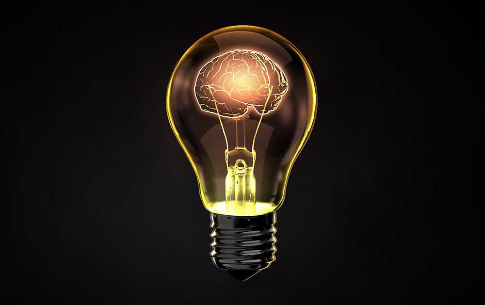 Das menschliche Gehirn braucht etwa 20 Watt - soviel wie eine schwache Glühbirne.
