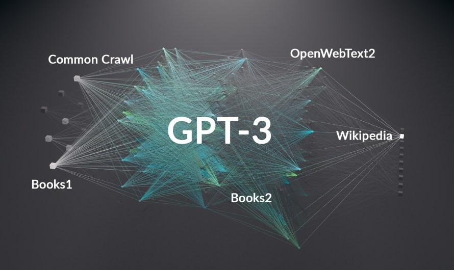 Mit diesen Daten wurde GPT-3 trainiert