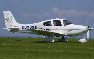 N544SR – Cirrus Design Corp. SR22 – Melbourne, FL