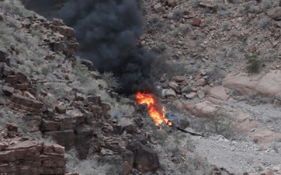 Grand Canyon Tourist Helicopter Crash – 2/10/2018