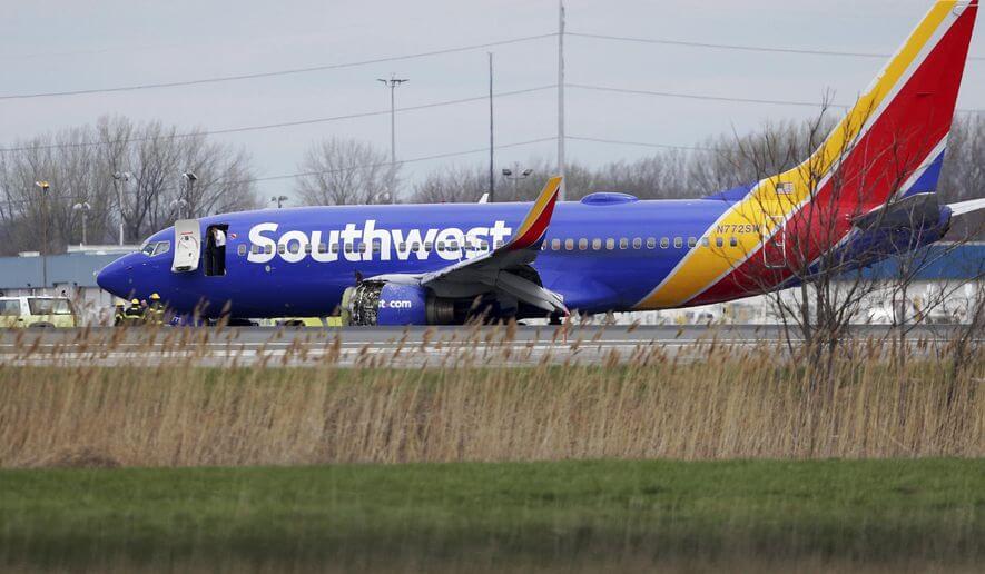 Soiutwest Airlines Flight 1380