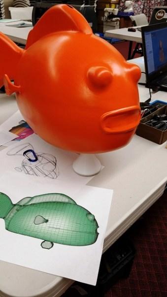 Dory 3D print