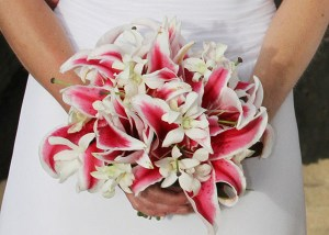 Tropical Wedding Bouquet, Kauai