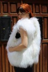 White Haute Furs