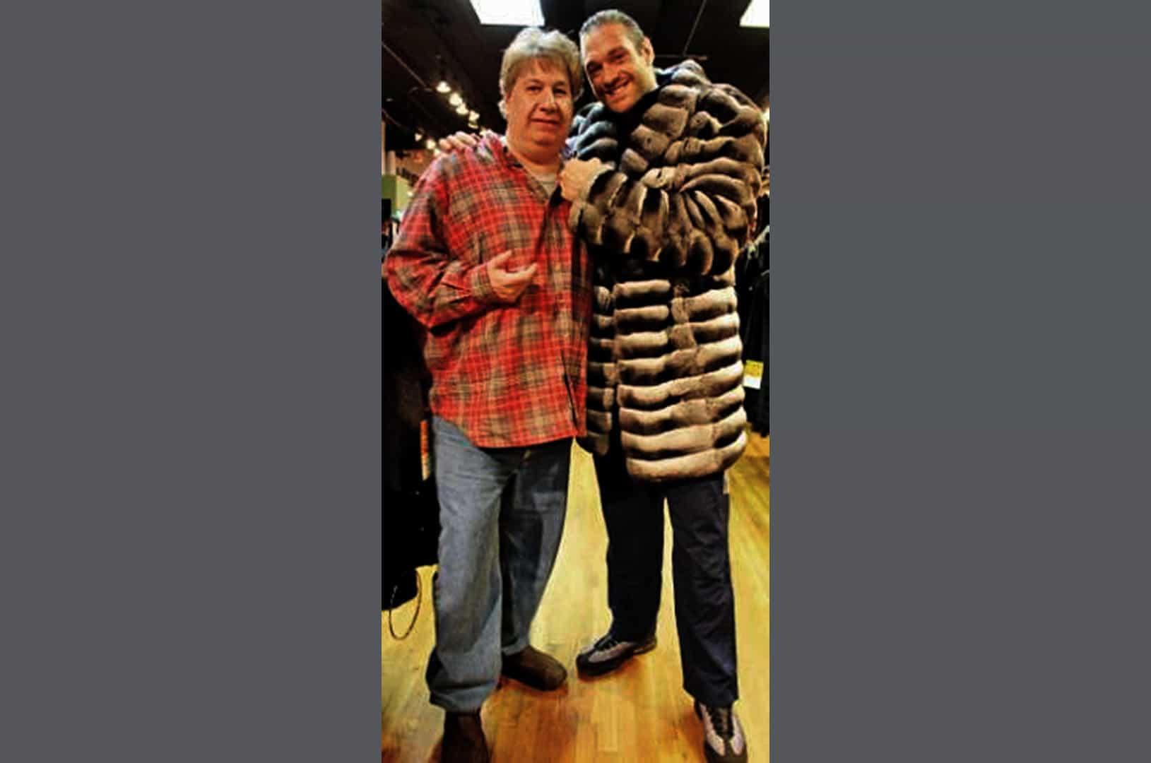 Tyson Fury with Marc kaufman