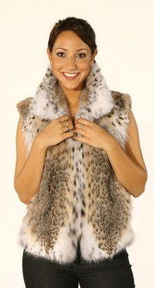 Sporty Cat Lynx Fur Vest