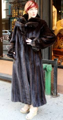 Marc Kaufman Furs Presents a dark brown mahogany mink fur coat with chinchilla fur collar from Marc Kaufman Furs New York,Fur coats in Baltimore, fur coats in Chicago, fur coats in Detroit, fur coats in Los Angeles, fur coats in Detroit, fur coats in orange county, fur coats in Atlanta, fur coats in Denver, fur coats in Dallas, fur coats in Seattle, fur coats in Portland, fur coats in Santiago, fur coats in Portugal, fur coats in Madrid