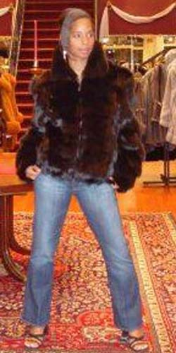Marc Kaufman Furs presents a brown fox fur diamond cut jacket from Marc Kaufman Furs New York City,Fur coats in Baltimore, fur coats in Chicago, fur coats in Detroit, fur coats in Los Angeles, fur coats in Detroit, fur coats in orange county, fur coats in Atlanta, fur coats in Denver, fur coats in Dallas, fur coats in Seattle, fur coats in Portland, fur coats in Santiago, fur coats in Portugal, fur coats in Madrid