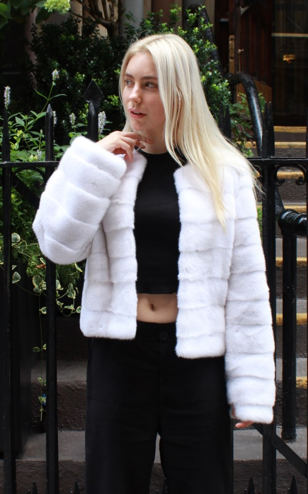 White Mink Jacket