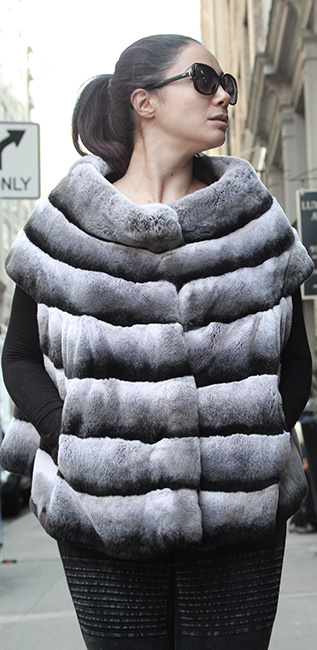 Used Rex Rabbit Vest