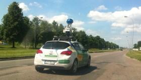 Google Street View automobilis Taikos prospekte