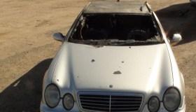 K. Krisko Skambinės sudegęs automobilis Mercedes 02
