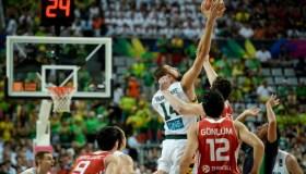 Pasaulio krepšinio čempionato ketvirtfinalis prieš Turkiją