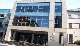 Užminuotas Kauno apygardos teismas