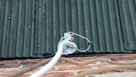 Netvarkinga elektros instaliacija