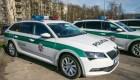 Atnaujintas policijos automobilių parkas
