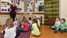 Vaikų užsiėmimai Kauno miesto muziejuje
