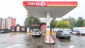 """""""Circle K"""" degalinė Petrašiūnuose"""